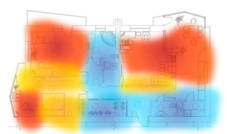 Wi-Fi Hot Zones